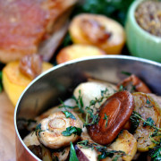 French Braised Mushrooms